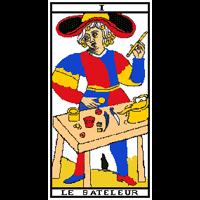 Tarot - Le bateleur