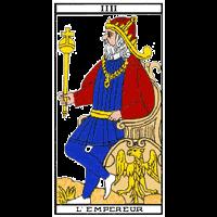 Tarot - L'empereur