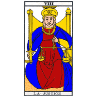 Tarot - La justice