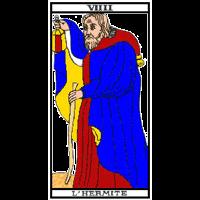 Tarot - L'hermite