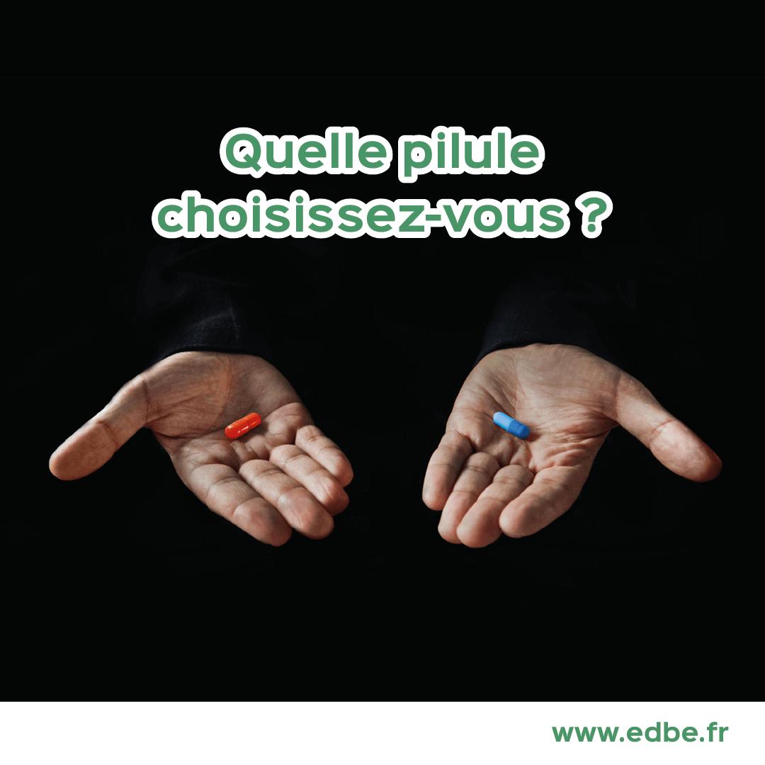 Quelle pilule choisissez-vous ?
